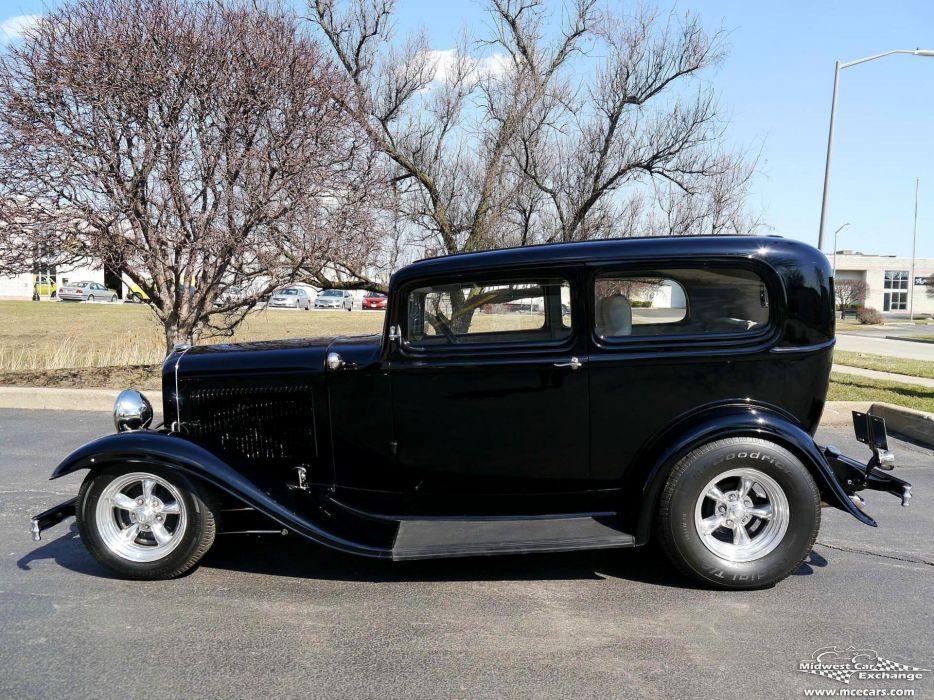 1932 Ford Sedan Street Rod Hot Streetrod Hotrod USA -13 wallpaper
