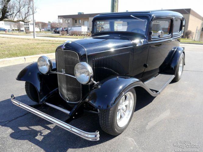 1932 Ford Sedan Street Rod Hot Streetrod Hotrod USA -15 wallpaper