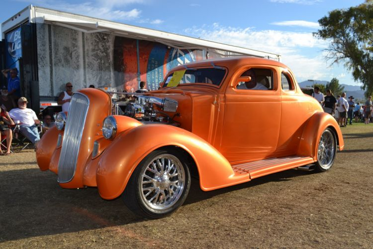 1936 Dodge Coupe Hotrod Streetrod Hot Rod Street USA -01 wallpaper