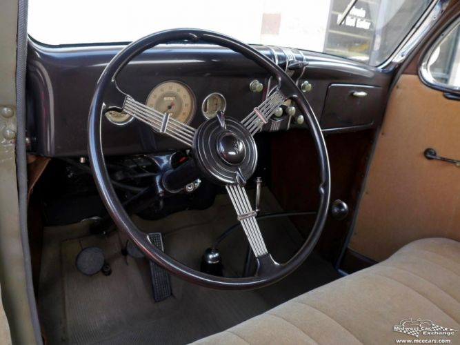 1936 Ford Deluxe Coupe Three Window Classic Old Vintage Original USA -17 wallpaper