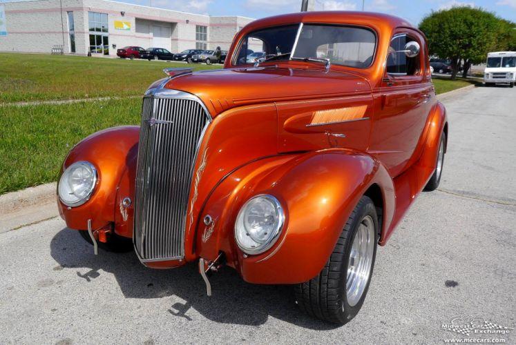 1937 Chevrolet Coupe Five Window Street Rod Hot Streetrod Hotrod USA -04 wallpaper