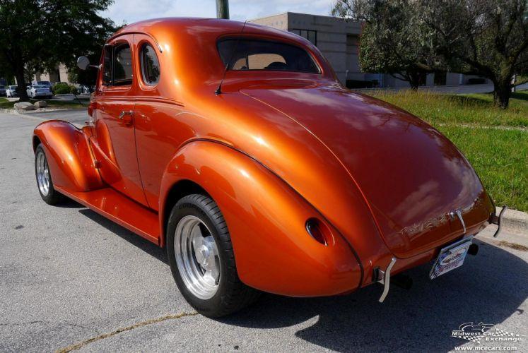 1937 Chevrolet Coupe Five Window Street Rod Hot Streetrod Hotrod USA -06 wallpaper