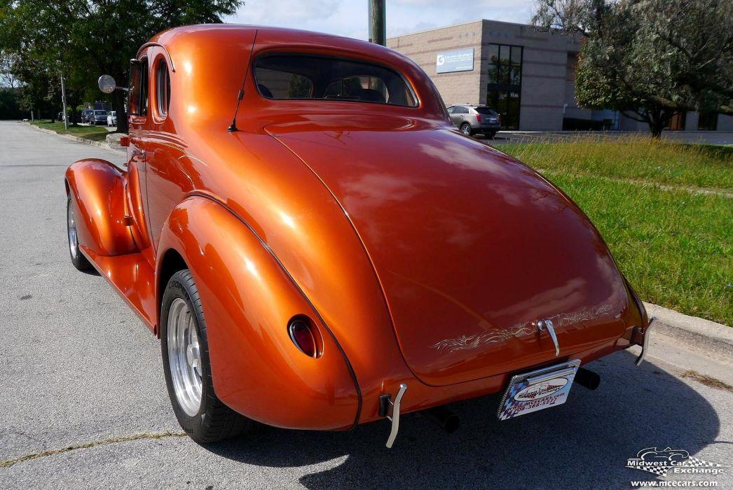 1937 Chevrolet Coupe Five Window Street Rod Hot Streetrod Hotrod USA -07 wallpaper