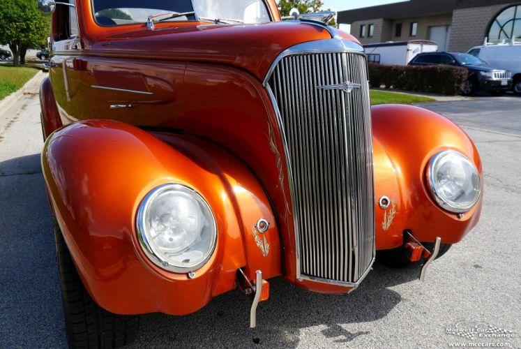 1937 Chevrolet Coupe Five Window Street Rod Hot Streetrod Hotrod USA -08 wallpaper