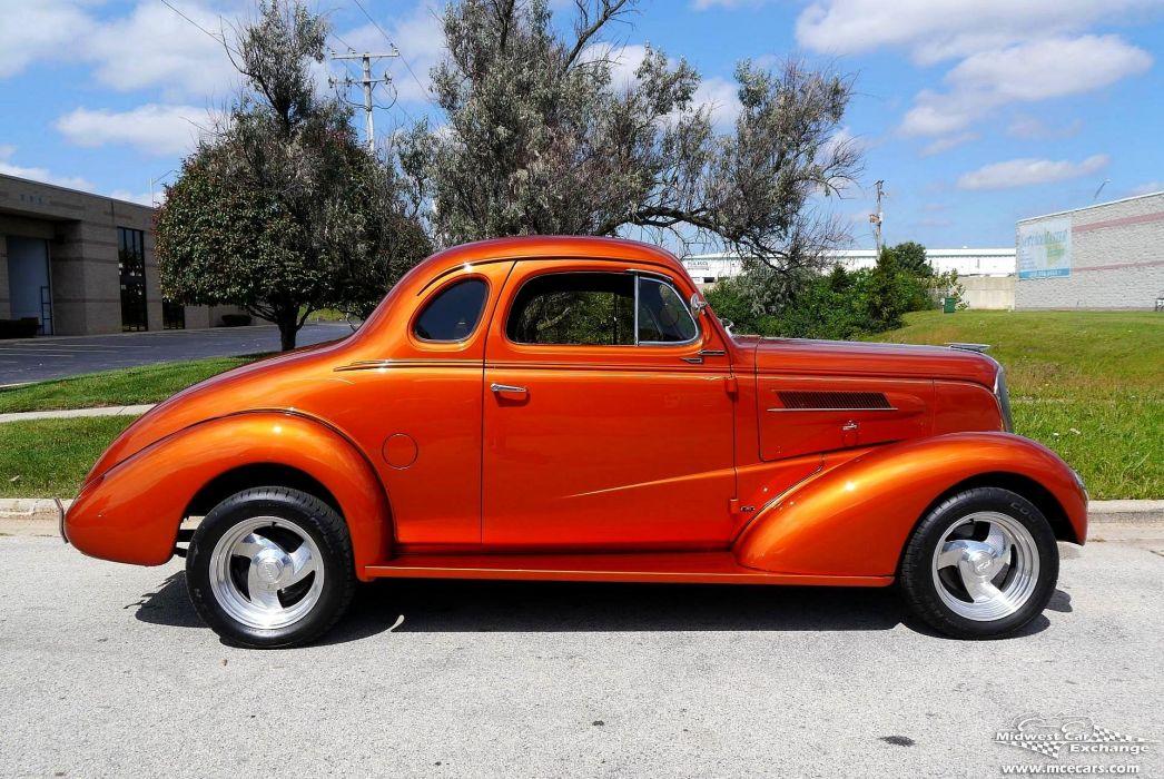 1937 Chevrolet Coupe Five Window Street Rod Hot Streetrod Hotrod USA -10 wallpaper