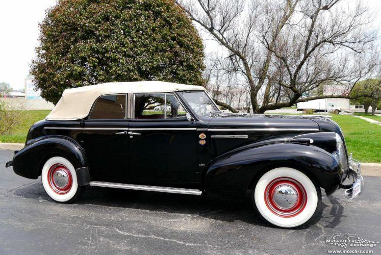 1939 Buick Eight Special Four Door Phaeton Classic Old Vintage Original USA -02 wallpaper