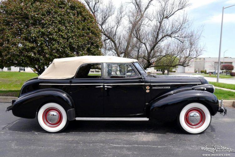 1939 Buick Eight Special Four Door Phaeton Classic Old Vintage Original USA -03 wallpaper