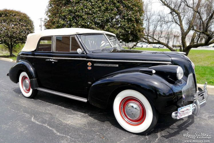 1939 Buick Eight Special Four Door Phaeton Classic Old Vintage Original USA -04 wallpaper
