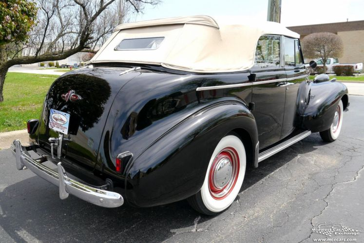 1939 Buick Eight Special Four Door Phaeton Classic Old Vintage Original USA -07 wallpaper