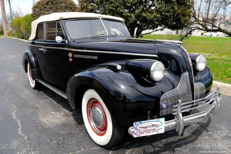 1939 Buick Eight Special Four Door Phaeton Classic Old Vintage Original USA -05 wallpaper