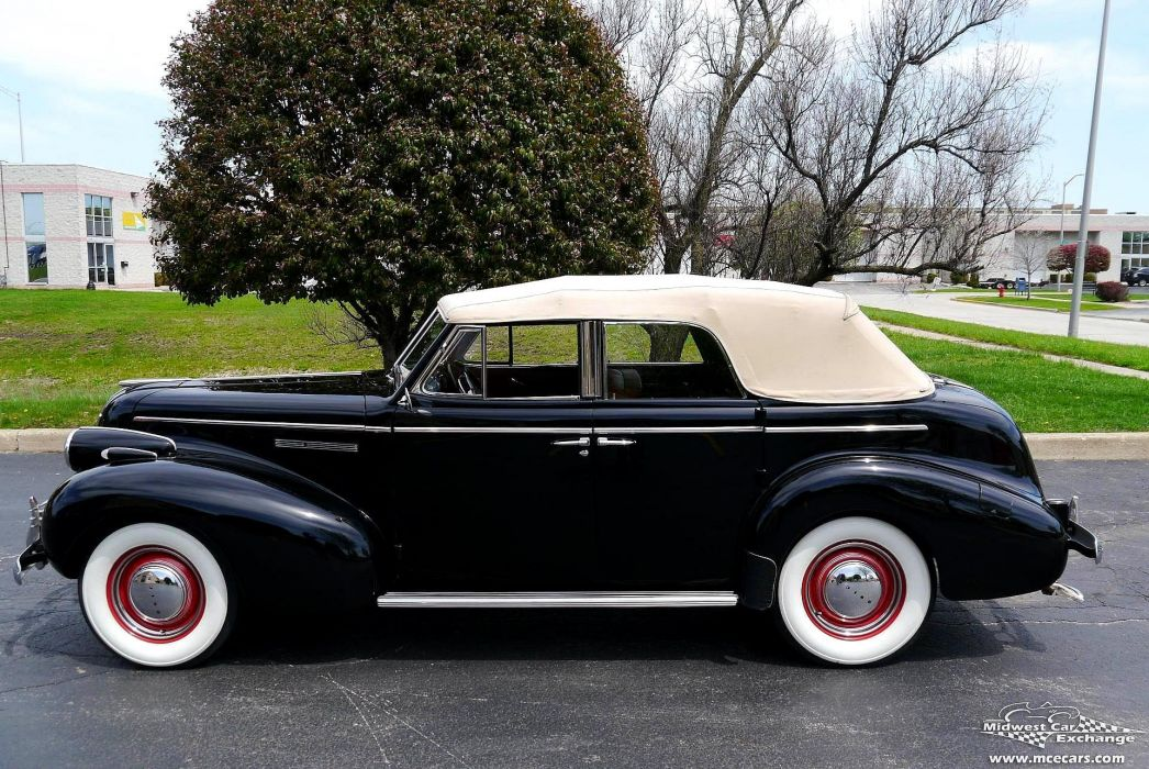 1939 Buick Eight Special Four Door Phaeton Classic Old Vintage Original USA -12 wallpaper