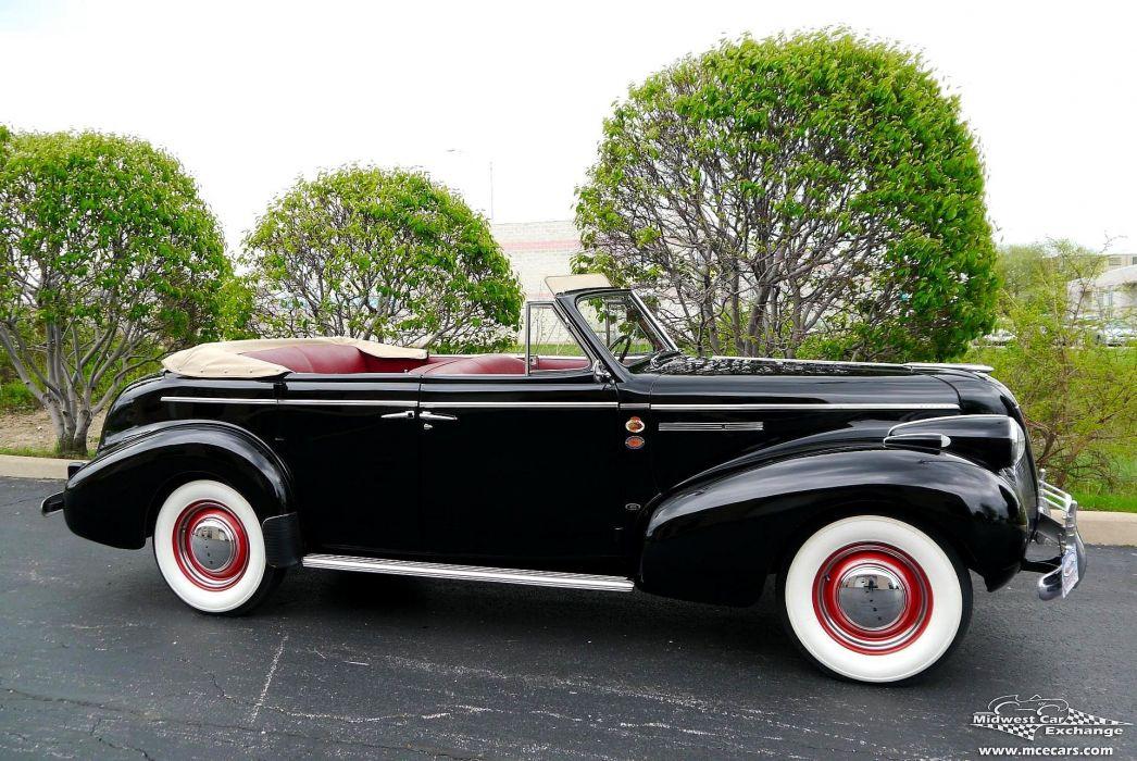 1939 Buick Eight Special Four Door Phaeton Classic Old Vintage Original USA -21 wallpaper