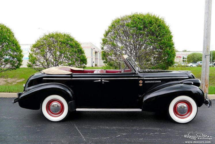 1939 Buick Eight Special Four Door Phaeton Classic Old Vintage Original USA -20 wallpaper