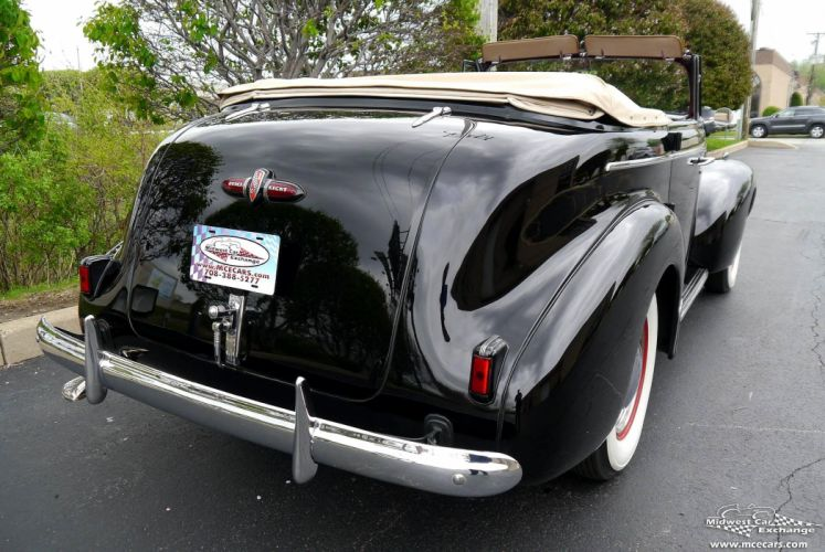 1939 Buick Eight Special Four Door Phaeton Classic Old Vintage Original USA -25 wallpaper