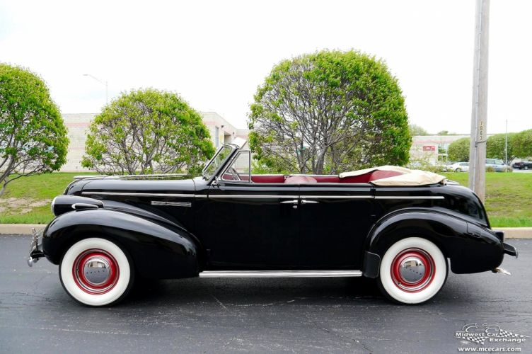 1939 Buick Eight Special Four Door Phaeton Classic Old Vintage Original USA -27 wallpaper
