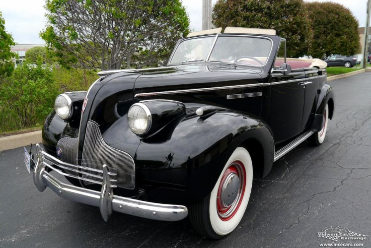 1939 Buick Eight Special Four Door Phaeton Classic Old Vintage Original USA -30 wallpaper