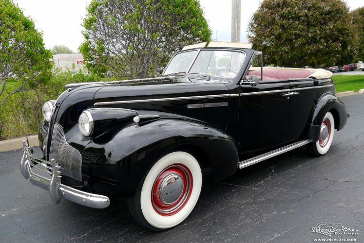 1939 Buick Eight Special Four Door Phaeton Classic Old Vintage Original USA -29 wallpaper