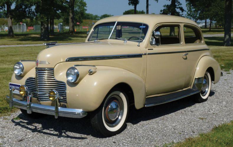 1940 Chevrolet Special Deluxe Town Sedan Classic Old Vintage Retro Original USA-2470x1536 wallpaper
