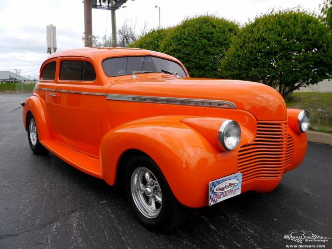 1940 Chevrolet Special Deluxe Two Door Sedan Street Rod hOT Streetrod Chopped USA -02 wallpaper