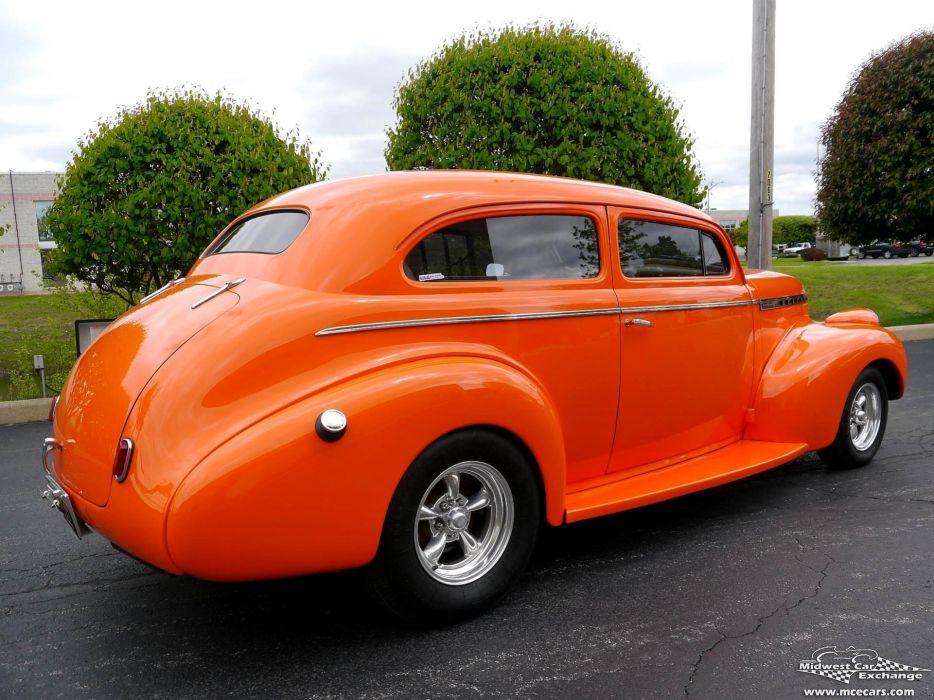 1940 Chevrolet Special Deluxe Two Door Sedan Street Rod hOT Streetrod Chopped USA -04 wallpaper