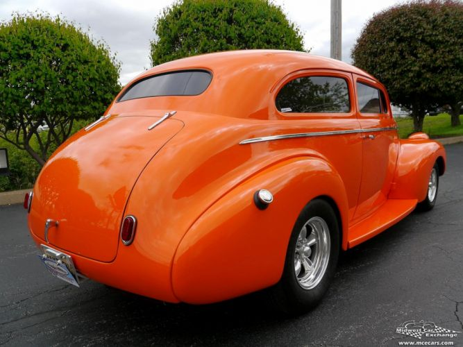 1940 Chevrolet Special Deluxe Two Door Sedan Street Rod hOT Streetrod Chopped USA -05 wallpaper