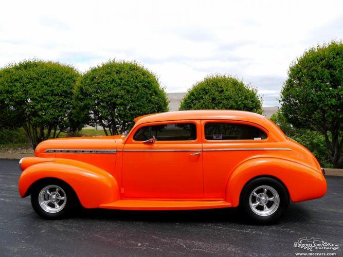 1940 Chevrolet Special Deluxe Two Door Sedan Street Rod hOT Streetrod Chopped USA -11 wallpaper