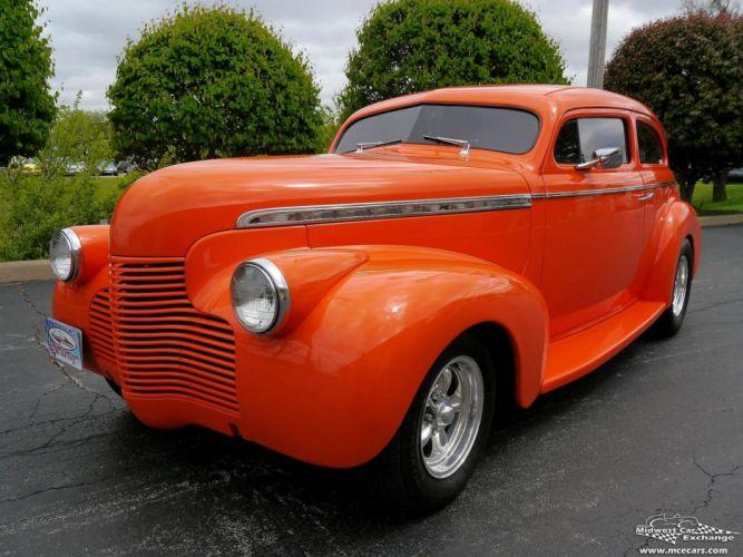 1940 Chevrolet Special Deluxe Two Door Sedan Street Rod hOT Streetrod Chopped USA -14 wallpaper