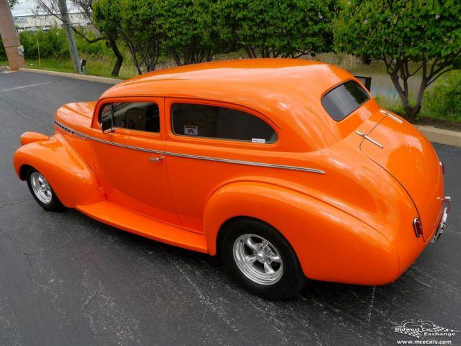 1940 Chevrolet Special Deluxe Two Door Sedan Street Rod hOT Streetrod Chopped USA -19 wallpaper
