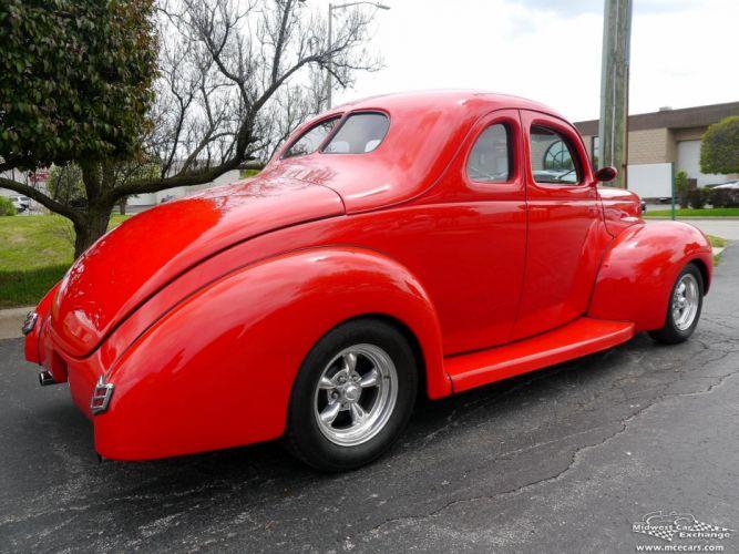 1940 Ford Coupe Street Rod Hot Streetrod Hotrod USA -04 wallpaper