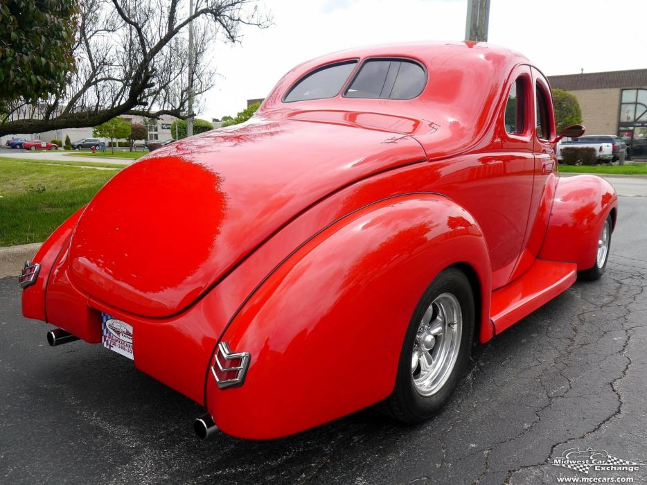 1940 Ford Coupe Street Rod Hot Streetrod Hotrod USA -05 wallpaper