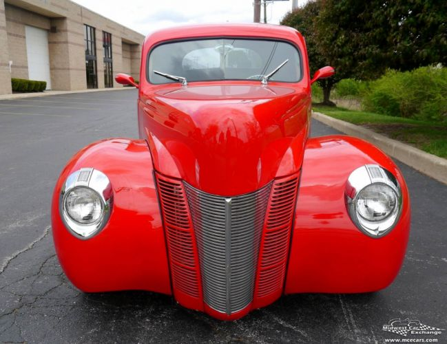 1940 Ford Coupe Street Rod Hot Streetrod Hotrod USA -06 wallpaper
