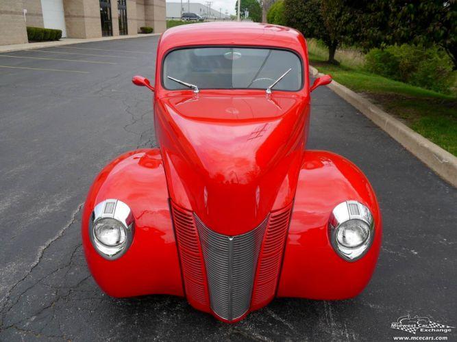 1940 Ford Coupe Street Rod Hot Streetrod Hotrod USA -08 wallpaper