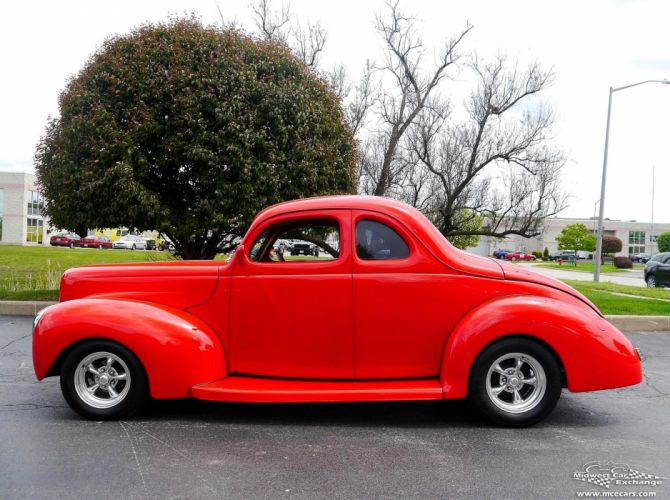 1940 Ford Coupe Street Rod Hot Streetrod Hotrod USA -09 wallpaper