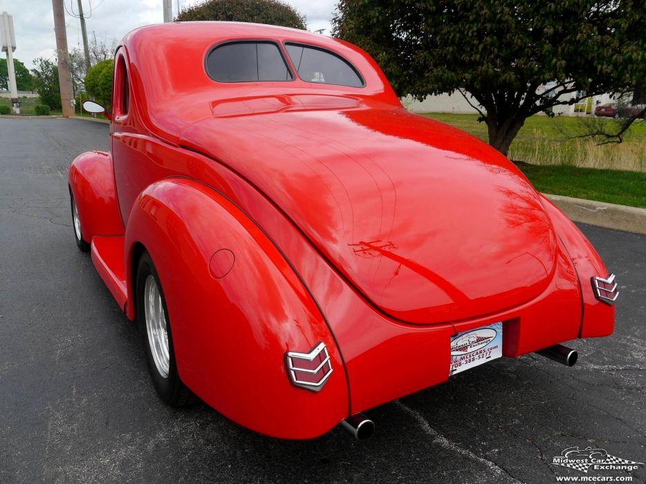 1940 Ford Coupe Street Rod Hot Streetrod Hotrod USA -15 wallpaper