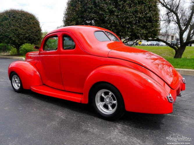 1940 Ford Coupe Street Rod Hot Streetrod Hotrod USA -13 wallpaper