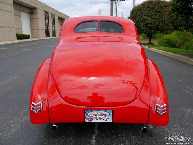 1940 Ford Coupe Street Rod Hot Streetrod Hotrod USA -16 wallpaper