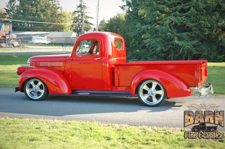 1946 Chevrolet Checvy Pickup Hotrod Streetrod Hot Rod Street USA 1500x1000-05 wallpaper