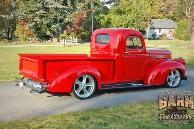 1946 Chevrolet Checvy Pickup Hotrod Streetrod Hot Rod Street USA 1500x1000-06 wallpaper