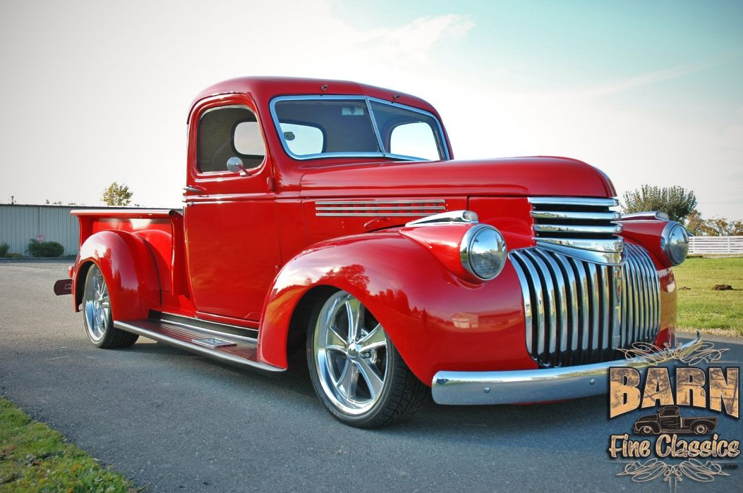 1946 Chevrolet Checvy Pickup Hotrod Streetrod Hot Rod Street USA 1500x1000-11 wallpaper