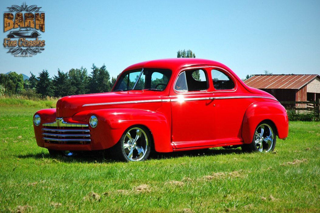 1946 Ford Business Coupe Hotrod Streetrod Hot Rod Street USA 1500x1000-01 wallpaper