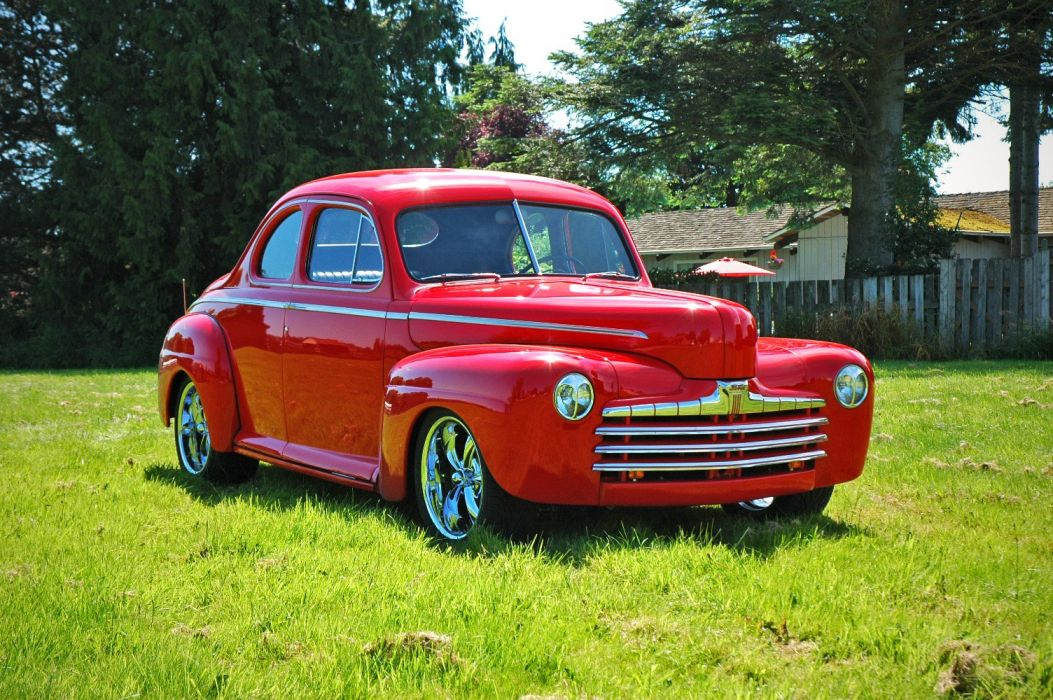 1946 Ford Business Coupe Hotrod Streetrod Hot Rod Street USA 1500x1000-02 wallpaper
