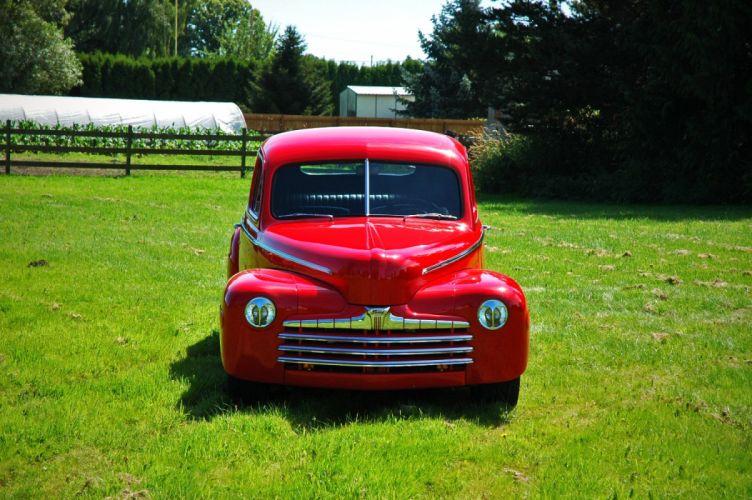 1946 Ford Business Coupe Hotrod Streetrod Hot Rod Street USA 1500x1000-04 wallpaper