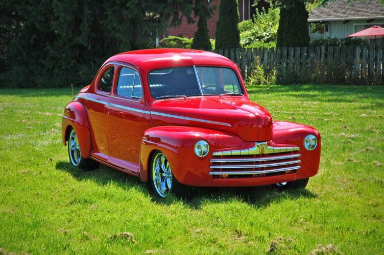 1946 Ford Business Coupe Hotrod Streetrod Hot Rod Street USA 1500x1000-03 wallpaper