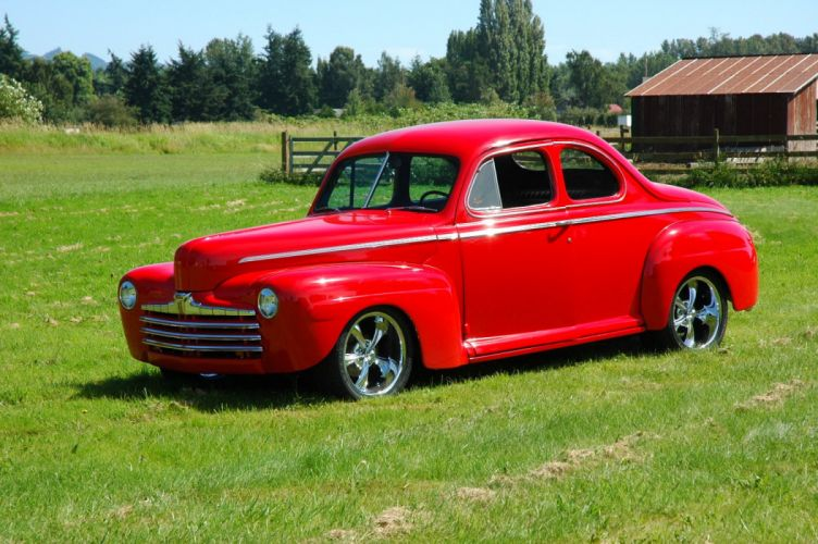 1946 Ford Business Coupe Hotrod Streetrod Hot Rod Street USA 1500x1000-06 wallpaper