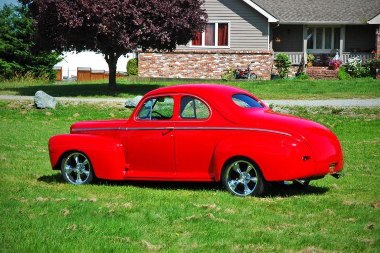 1946 Ford Business Coupe Hotrod Streetrod Hot Rod Street USA 1500x1000-08 wallpaper