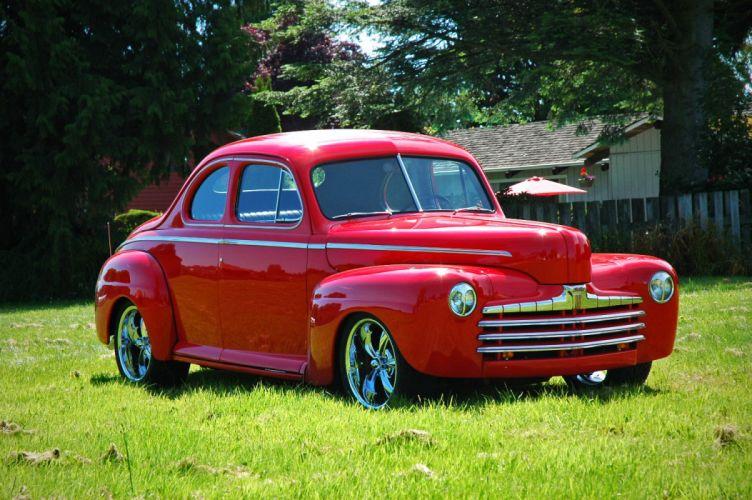 1946 Ford Business Coupe Hotrod Streetrod Hot Rod Street USA 1500x1000-12 wallpaper