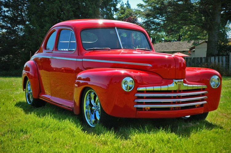 1946 Ford Business Coupe Hotrod Streetrod Hot Rod Street USA 1500x1000-11 wallpaper
