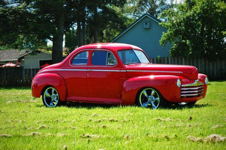 1946 Ford Business Coupe Hotrod Streetrod Hot Rod Street USA 1500x1000-13 wallpaper