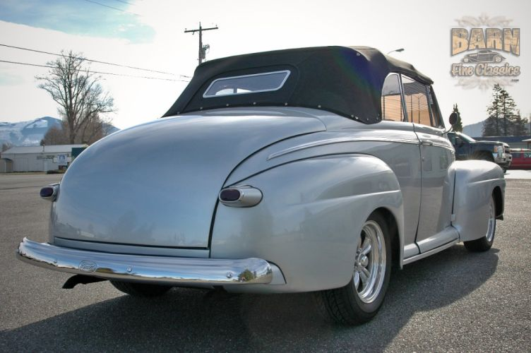 1946 Ford Deluxe Convertible Hotrod Streetrod Hot Rod Street USA 1500x1000-12 wallpaper