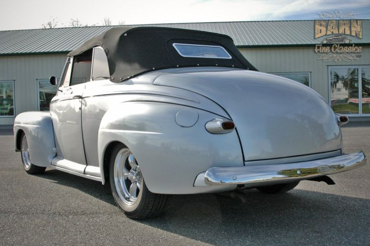 1946 Ford Deluxe Convertible Hotrod Streetrod Hot Rod Street USA 1500x1000-10 wallpaper